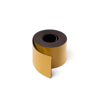 Gekleurde magneetband Geel 30 x 1000 mm