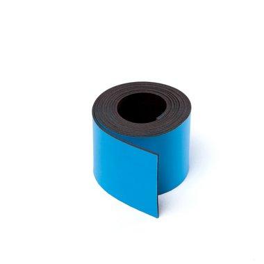 Gekleurde magneetband Blauw 30 x 1000 mm