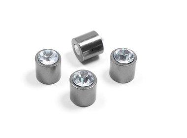 Bling bling magneten - set van 4 stuks