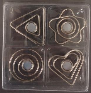Metaaldraad magneten Wire Symbols - per 4 stuks verpakt