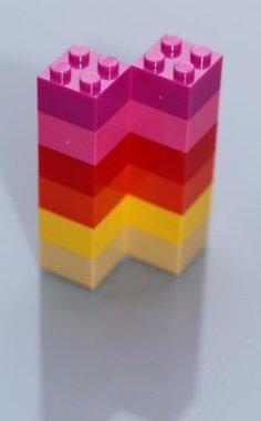 Superleuke neodymium Girls bouwsteen magneten - set van 12 stuks