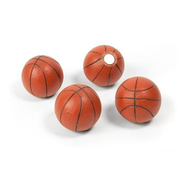 Magneet Basketball - set van 4 basketbal magneten