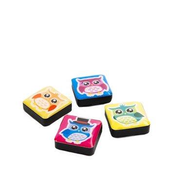 Magneet Icon Uilen - set van 4 stuks