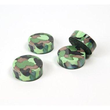 Magneet Camouflage - set van 4 magneten