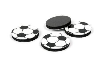 Voetbal magneten - Soccer 2 - set van 4 stuks
