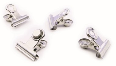 Magneet Clip Graffa MINI - Set van 4 kleine magneetclips