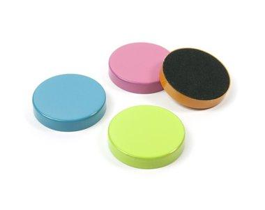 Magneet Disk - colour - set van 4 gekleurde schijfmagneten