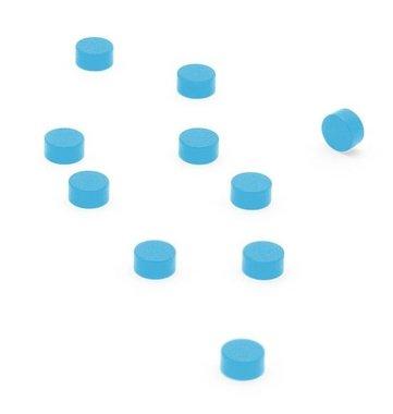 Magneet Steely - set van 10 magneetjes - blauw