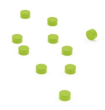 Magneet Steely - set van 10 - groen