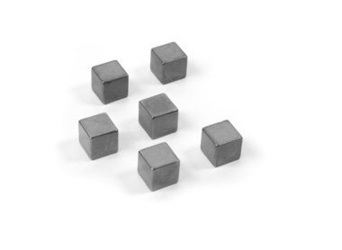 Magneet Magic Cube Medium - set van 6 supersterke kubus magneten