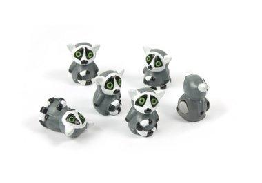 Magneet Lemur - set van 6 stuks