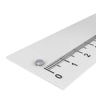 3x1 mm vernikkeld N48