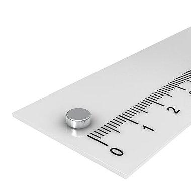 5x2 mm vernikkeld N52