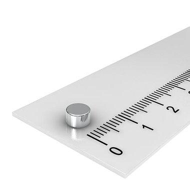 5x3 mm vernikkeld N42