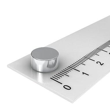 10x5 mm vernikkeld N52