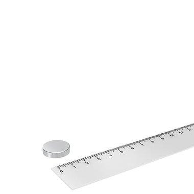 20x5 mm vernikkeld N52