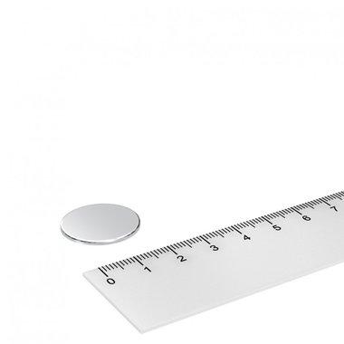 22x1 mm vernikkeld N42