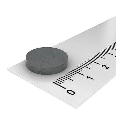 15x3 ferriet magneet tot 250 °C