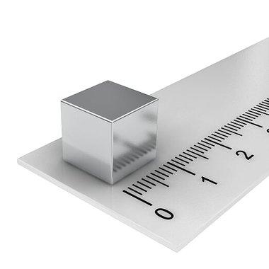 10x10x10 vernikkeld N52