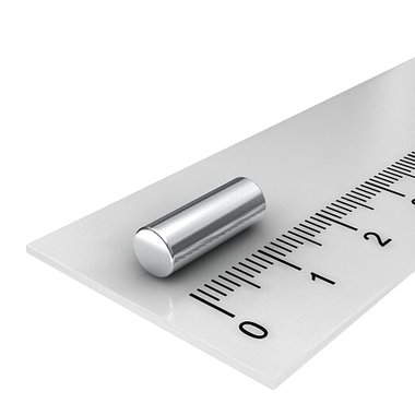 5x14 mm vernikkeld N45