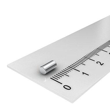 3x6 mm vernikkeld N48