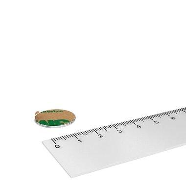 20x1 mm vernikkeld N35 Zelfklevend 3M