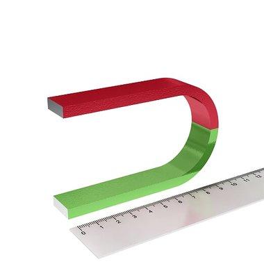 Hoefjizermagneet voor educatie en experimenten 100x63 mm