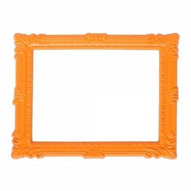 Magnetisch fotoframe kleur oranje - klassiek