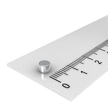 4x3 mm vernikkeld N45
