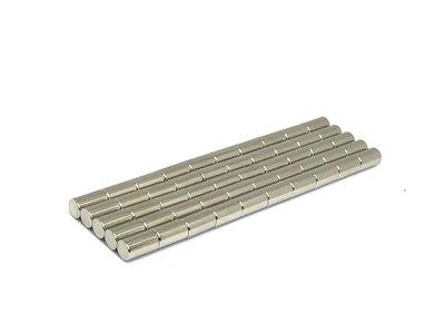 neodymium staafmagneten aanbieding 50 stuks 5 x 9 mm