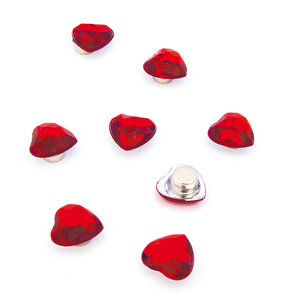 diamant hartjes rood neodymium