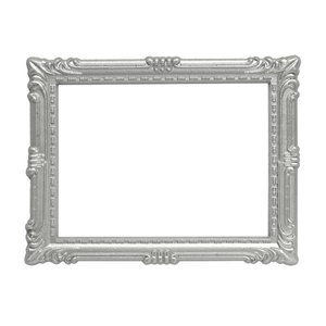 magnetisch foto frame zilver