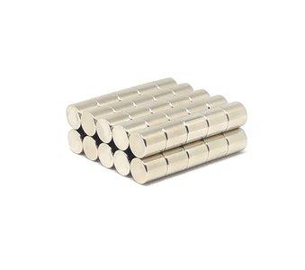 50 stuks aanbieding 10x10 mm neodymium schijfmagneten