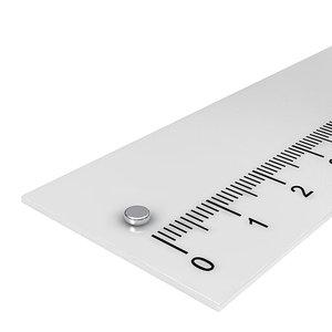 3x1 mm neodymium schijfmagneet