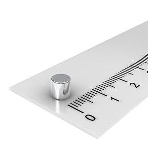 5x5 mm neodymium schijfmagneet