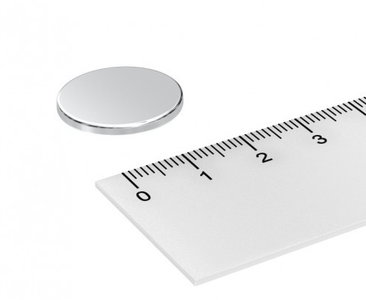 20x2 mm neodymium schijfmagneten