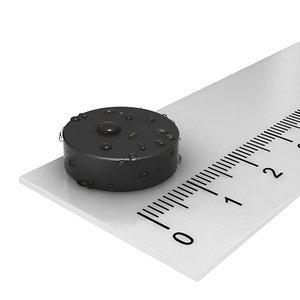 16x4 mm rubber magneet