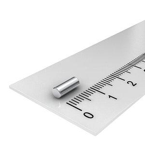 3x6 mm neodymium staafmagneet