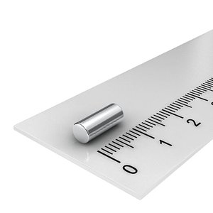 4x10 mm neodymium staafmagneet