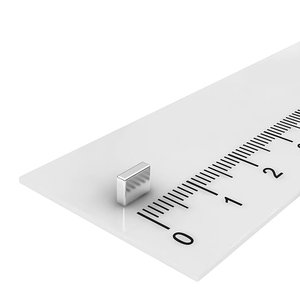5x4x1,5 neodymium  blokmagneet