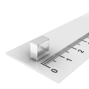 8x8x4 mm neodymium  blokmagneet