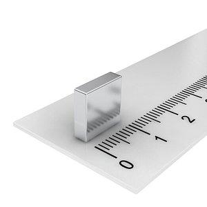 10x10x3 mm neodymium  blokmagneet