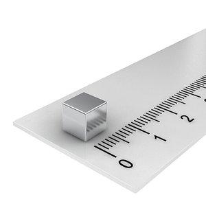 6x6x6 mm neodymium  kubusmagneet