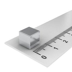 8x8x8 mm neodymium  kubusmagneet