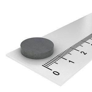 15x3 mm ferriet schijfmagneet