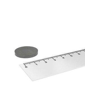 25x3 mm ferriet schijfmagneet