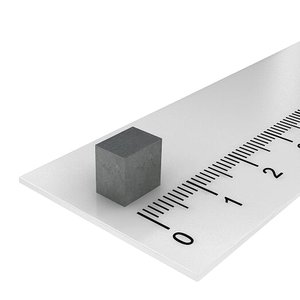 7x7x5 mm ferriet blokmagneet