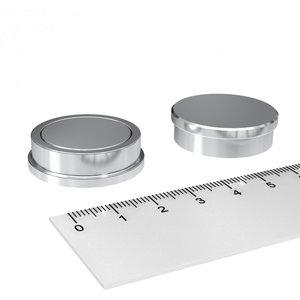 RVS magneet 30x9 mm