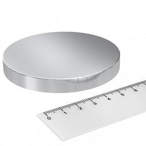schijfmagneet neodymium 80x10 mm