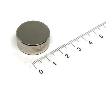 Schijfmagneet 22x10 mm N52